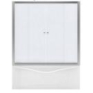 Aquanet AQ5 Душевая шторка для прямоугольной ванны 150x140 узоры профиль хром (177003)