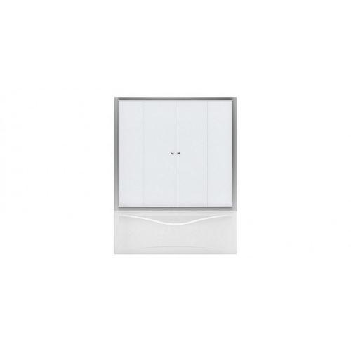Aquanet AQ5 Душевая шторка для прямоугольной ванны 160x140 узоры профиль хром (175831)