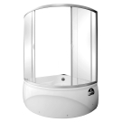 Aquanet А 229 Шторка Vitoria 135x135 стекло прозрачное (Transparent glass) (182551)
