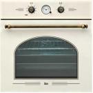 Электрический духовой шкаф в стиле кантри Teka HR-650 WHITE CREAM
