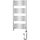 Электрический полотенцесушитель ФЛЮИД 1200х500 левый или правый Сунержа 00-0524-1250