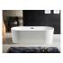 BRI17080 BRISTOL Ванна акриловая в комплекте с сифоном и металлической рамой 170x80x58 AZARIO