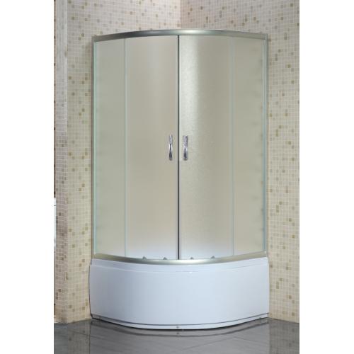 Loranto Душевое ограждение CS-8020S 90*90*195 высокий поддон 40 см стекло 4 мм