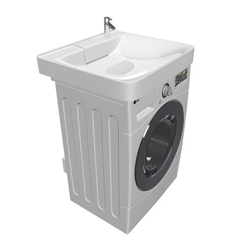Раковина для установки над стиральной машиной Laundry 600х600 1марка