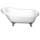 Bristol 170x78x50x55 ванна орлиные когти ножки хром Goldman