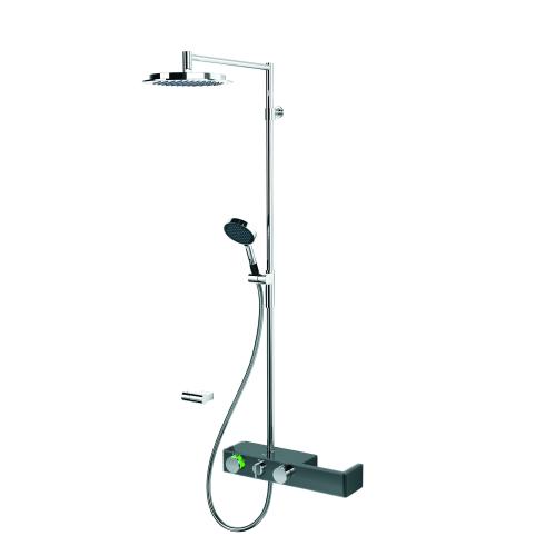 6392U-15 Смеситель с верхним душем rain shower 3V Oras термостат