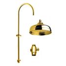 Bugnatese Душ стойка стационарная ванна/ душ с переключателем и передвижным держателем бронза без верхнего душа