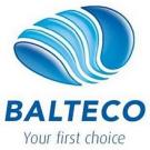 BALTECO Душевая стенка с г/м стойкой для ванны Lotus 140