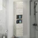 COMFORTY Шкаф-колонна Верона-35 дуб белый