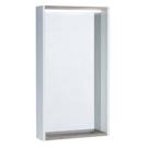 Зеркало-шкаф Бэлла Белый/Джара 1A221702BBAZ0 Акватон