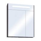 Зеркало-шкаф Сильва 60 Дуб Макиато 1A216202SIW50 Акватон
