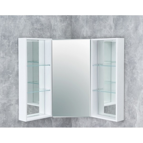 Зеркало-шкаф Кантара 1A2057K2ANW70 дуб полярный Акватон