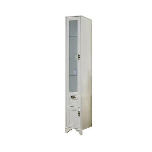 Шкаф-колонна Идель левый дуб белый 1A198003IDM7L Акватон