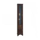 Шкаф-колонна Идель левый дуб шоколадный 1A198003IDM8L Акватон