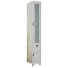 Шкаф-колонна Идель правый дуб белый 1A198003IDM7R Акватон