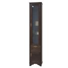 Шкаф-колонна Идель правый дуб шоколадный 1A198003IDM8R Акватон