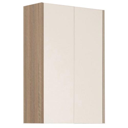 Шкаф 2 створчатый Йорк Белый/Дуб сонома 1A171303YOAD0 Акватон