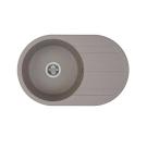 Мойка кухонная Амира серый шелк 1A712932AI250 Акватон