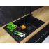 Мойка кухонная Делия 78 графит 1A715132DE210 Акватон