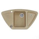 Мойка кухонная Лория 520 мм песочная 1A715032LR220 Акватон