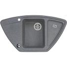 Мойка кухонная Лория 520 мм серая 1A715032LR230 Акватон
