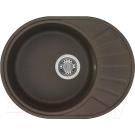 Мойка кухонная Чезана 568x437x191 мм кофе 1A711232CS280 Акватон