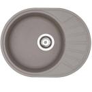 Мойка кухонная Чезана 568x437x191 мм серый 1A711232CS230 Акватон
