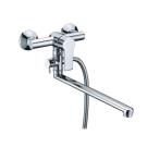Ammer 3702L Смеситель для ванны с длинным поворотным изливом 350 мм Wasser Kraft 9060928