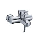Donau 5301 Смеситель для ванны с коротким изливом хром Wasser Kraft 9060811