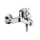 Isen 2601 Смеситель для ванны с коротким изливом хром Wasser Kraft 9060982
