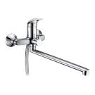 Isen 2602L Смеситель для ванны с длинным изл 350 мм хром Wasser Kraft 9060983