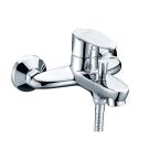 Leine 3501 Смеситель для ванны с коротким изливом хром Wasser Kraft 9060915