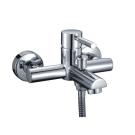 Main 4101 Смеситель для ванны с коротким изливом хром Wasser Kraft 9060816