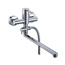 Main 4102L Смеситель для ванны с длинным поворотным изливом 350 мм хром Wasser Kraft 9060817