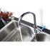 LM0605C Lemark Смеситель для кухни с высоким поворотным изливом хром