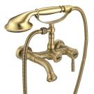 LM6612B Lemark Жасмин Смеситель для ванны с коротким фиксированным изливом бронза