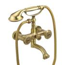 LM6614B Lemark Жасмин Смеситель для ванны с коротким поворотным изливом бронза