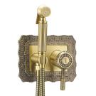 LM6619B Lemark Жасмин Смеситель с гигиеническим душем встраиваемый бронза