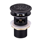 LM6680ORB Lemark Жасмин Донный клапан клик-клак черная бронза