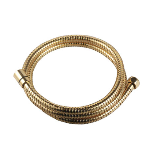 LE8037B-Gold Lemark Шланг душевой двухзагибный 1,5 м TURN-FREE латунь покрытие золотоото