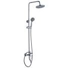 B35-46 Rossinka Смеситель одноручный для ванны с верхней лейкой Тропический дождь с поворотным изливом 70 мм