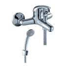 C40-31 Rossinka Смеситель одноручный для ванны с коротким изливом хром