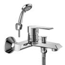 RS28-31 Rossinka Смеситель одноручный для ванны с коротким изливом хром