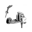 RS30-31 Rossinka Смеситель одноручный для ванны с коротким изливом хром