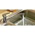 S35-21 Rossinka Смеситель одноручный для кухни с поворотным изливом 250 мм хром