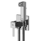 X25-53 Rossinka Смеситель одноручный (25 мм) с гигиеническим душем встраиваемый хром