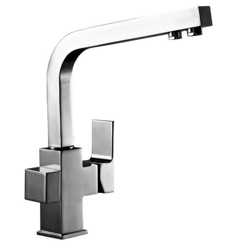 Z35-32 Rossinka Смеситель одноручный для кухни c подключением к фильтру с питьевой водой хром
