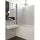 A170N ALPEN ALPINA 100x1500 Шторка на ванну (покрытие Easy Clean) + Средство для очистки душ.каб.