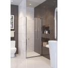 A100N ALPEN ALPINA 100x195 Душевая дверь в нишу (покрытие Easy Clean) + средство для очиcтки душ. каб