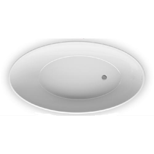 VENECIA 160х85 Ванна из литого мрамора ALPEN в комплекте с сифоном